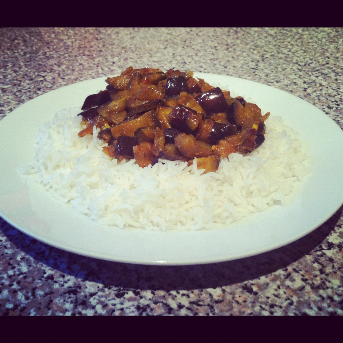 Aubergine bhaji curry food that makes you smile for Aubergine cuisine