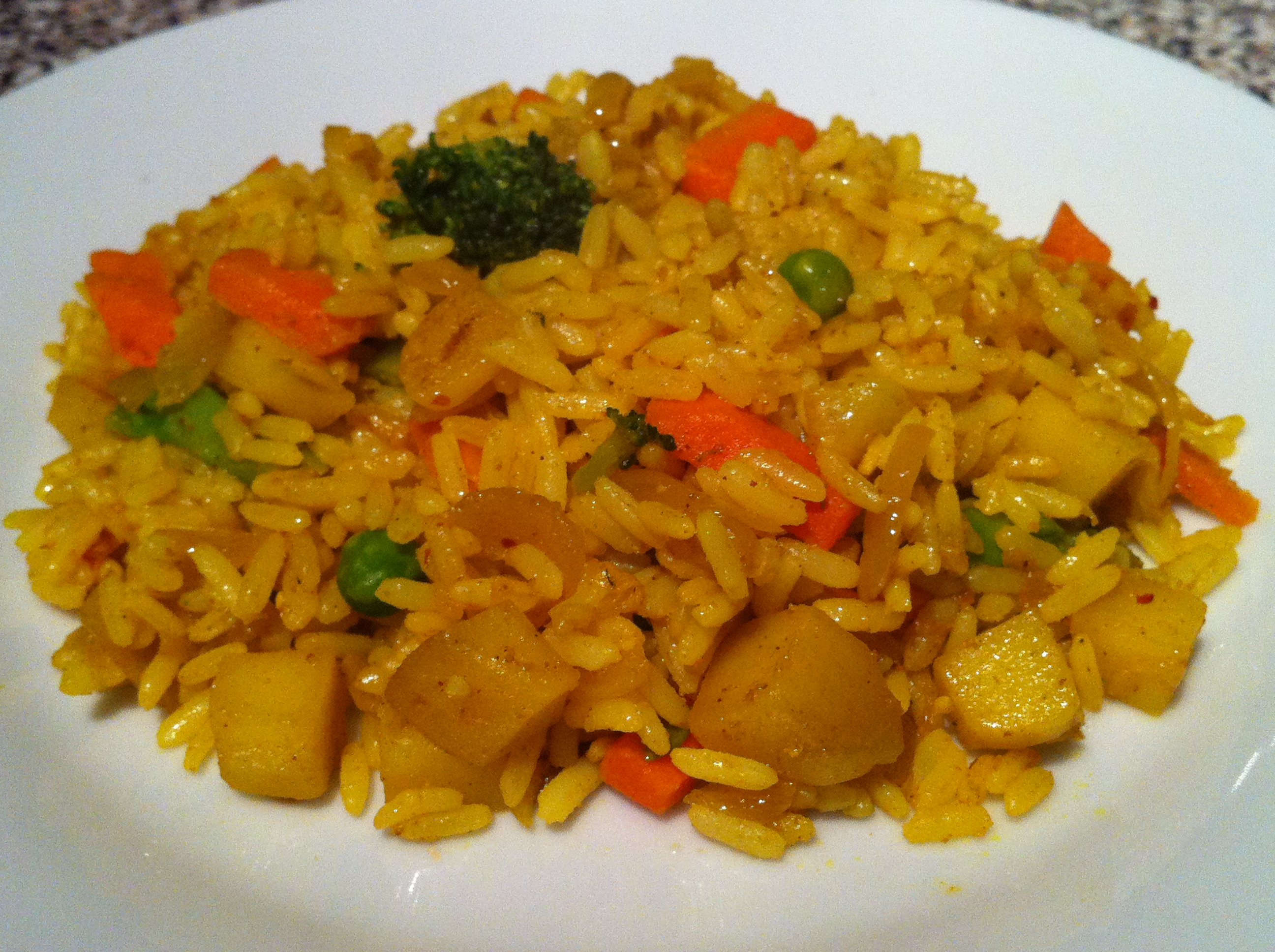 pie rice indian style indian fusion fried rice indian fried rice fodni ...