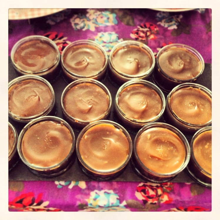 Caramel Choc Pots