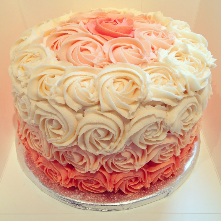 Victoria Sponge Rosette Cake