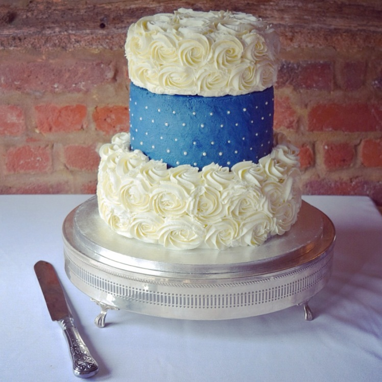 Wedding Cake - Lemon Drizzle