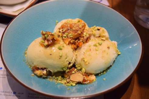 Ceru - pistachio ice cream