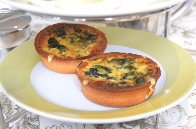 Gruyere and Spniach Tarts