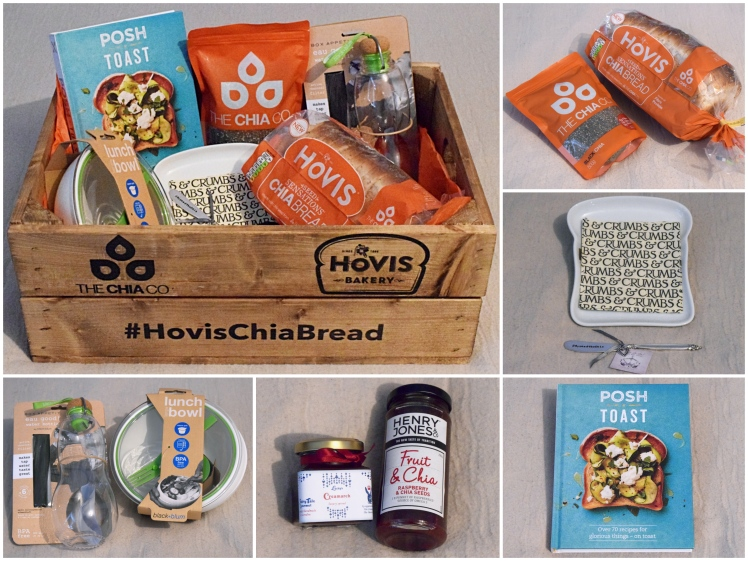 Hovis Chia Crate Collage