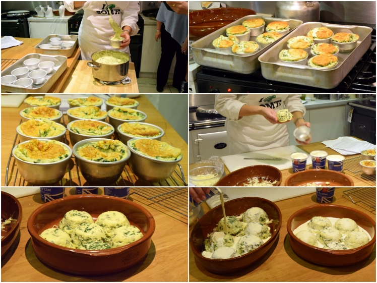 Souffle Prep Collage