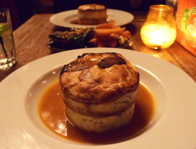 Pie & Mash at The Lexington