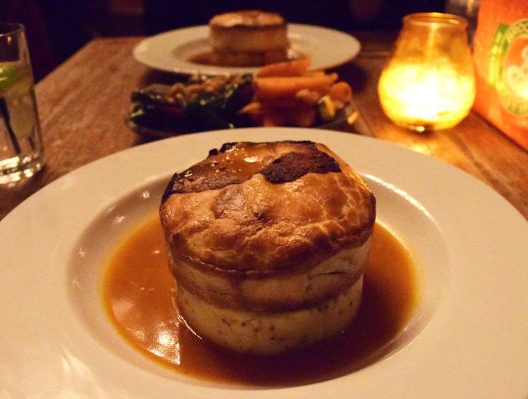 Pie & Mash at The Lexington