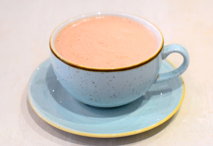 Cinnamon Rose Hot Chocolate